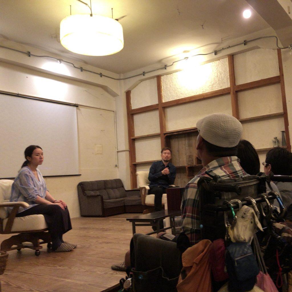 ④トークの模様 1024x1024 - 「【1/10 Fukushimaをきいてみる】上映会@大阪」を見て、聞いた