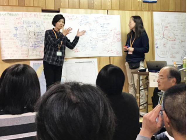 P2 1 兵庫県HPより、播磨町での調整会議(ケース会議)の模様 - 防災と福祉の 連携イノベーション!